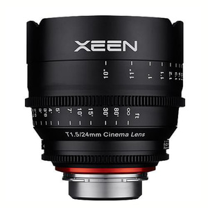 (삼양렌즈) XEEN 24mm T1.5 Cinema Lens EF Mount